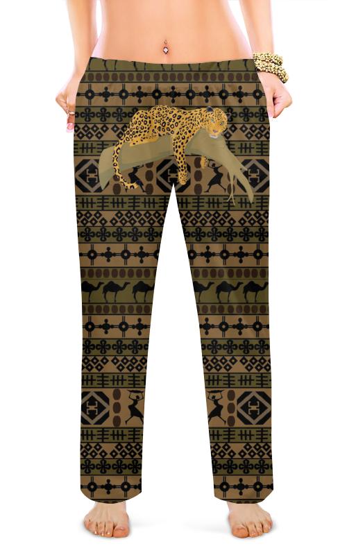Женские пижамные штаны Printio Сафари цена 2017