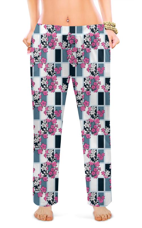 Женские пижамные штаны Printio Сакура блокнот printio сакура