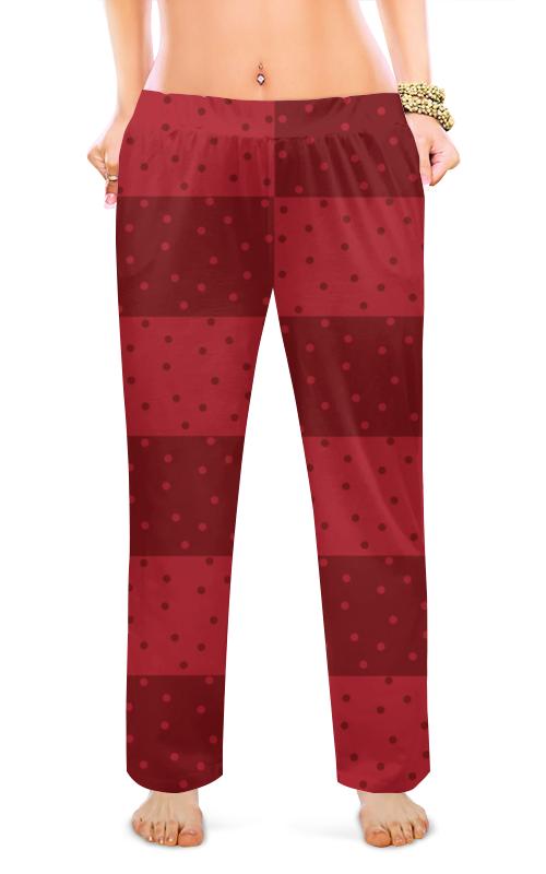 Фото - Женские пижамные штаны Printio Красный геометрический узор штаны fladen authentic