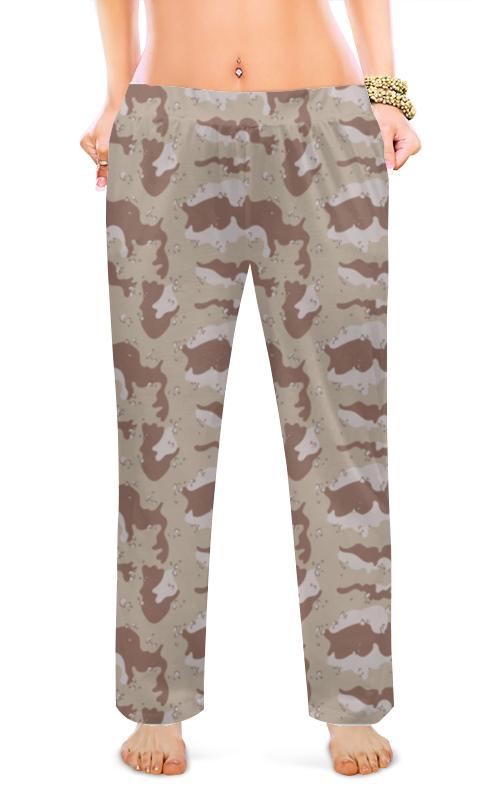 Женские пижамные штаны Printio Современный камуфляж halojaju современный и контрактный