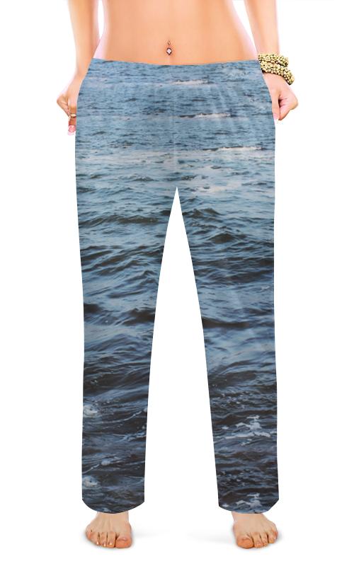 Женские пижамные штаны Printio Океан