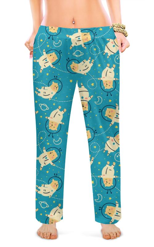 Женские пижамные штаны Printio В космосе