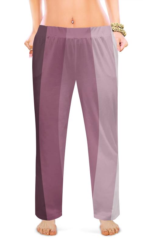 Женские пижамные штаны Printio Молочный шоколад