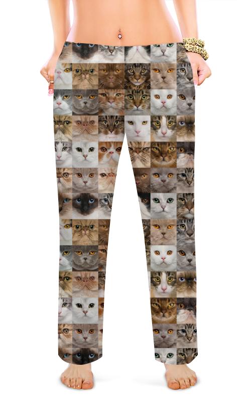 Женские пижамные штаны Printio Кошки. магия красоты пижамные комплекты