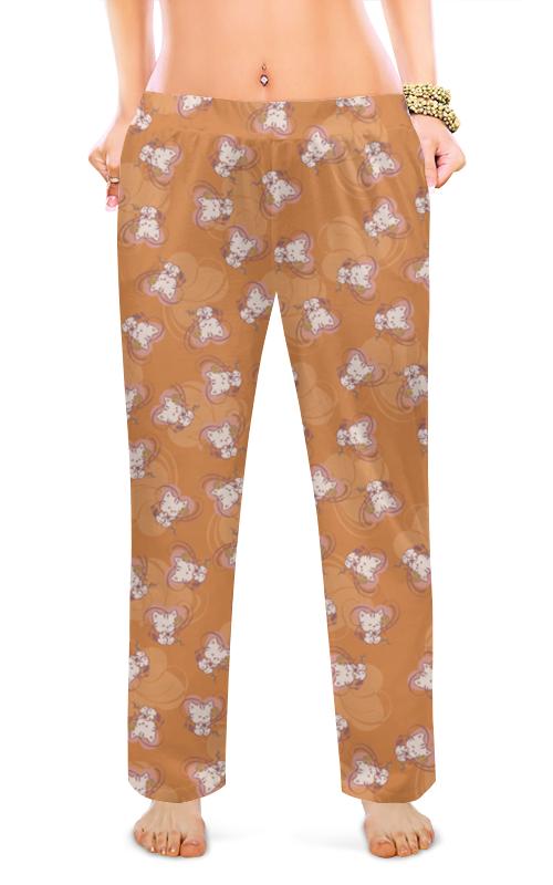 Фото - Женские пижамные штаны Printio Котенок с клубком кружка пивная printio котенок с клубком