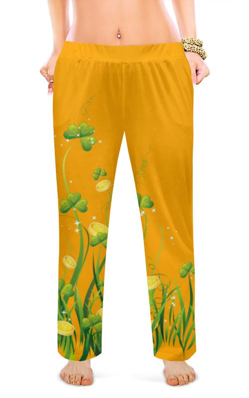Женские пижамные штаны Printio Без названия