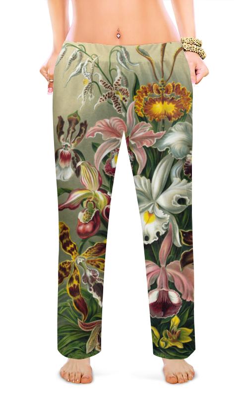 Женские пижамные штаны Printio Орхидеи