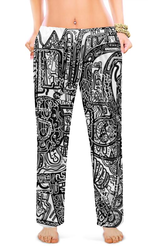 Женские пижамные штаны Printio Без названия пижамные комплекты