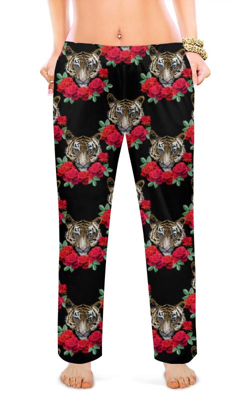 Женские пижамные штаны Printio Шикарные тигры