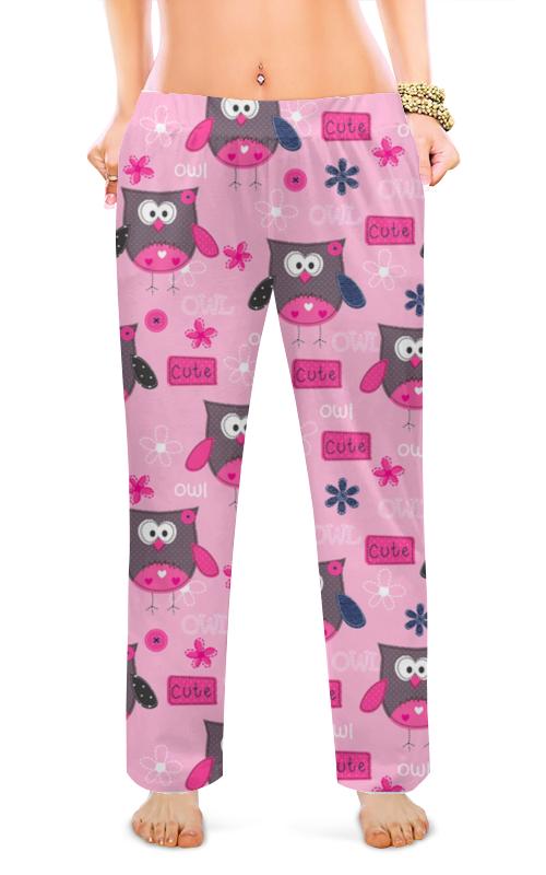 Женские пижамные штаны Printio Совята