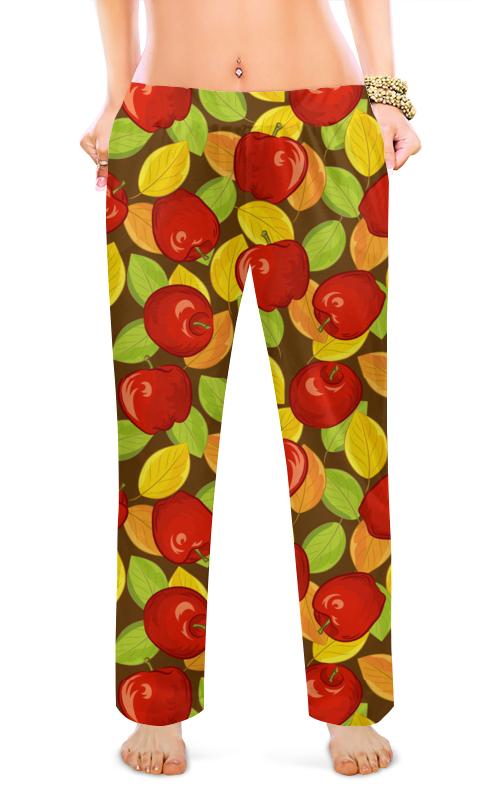 Женские пижамные штаны Printio Яблочко
