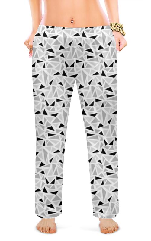 Женские пижамные штаны Printio Геометрический узор пижамные комплекты
