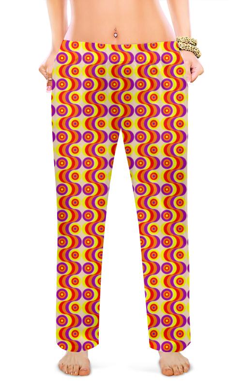 Женские пижамные штаны Printio Волны foxriver носки туристические женские 2557 strive qtr цвет морской волны