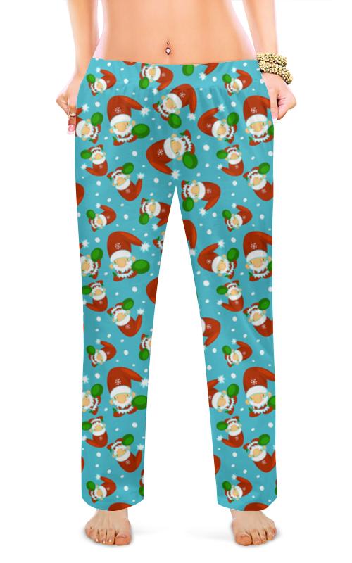 Женские пижамные штаны Printio Рождественский сон