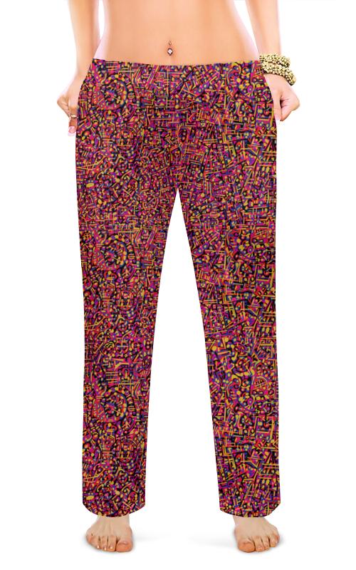 Женские пижамные штаны Printio Карамель. пижамные комплекты