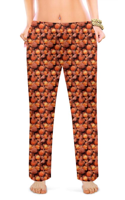 Женские пижамные штаны Printio Дикая малина пижамные комплекты
