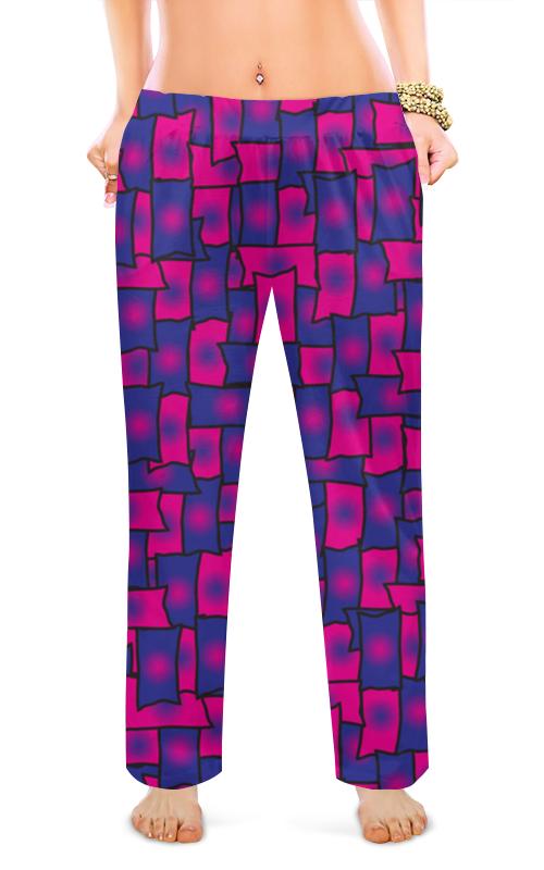 Женские пижамные штаны Printio Прямоугольники леггинсы printio прямоугольники