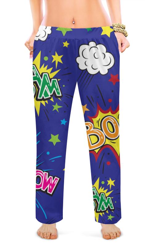 Женские пижамные штаны Printio Комиксы детские штаны gap 00066937 15 baby 669375 1