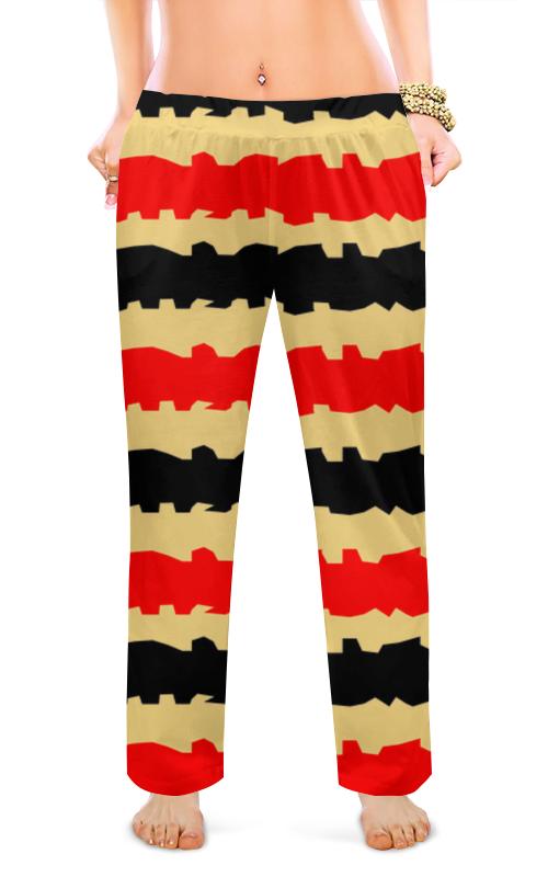 Фото - Женские пижамные штаны Printio Полоски с рванными краями штаны fladen authentic