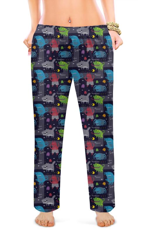 Женские пижамные штаны Printio Зомбяшки