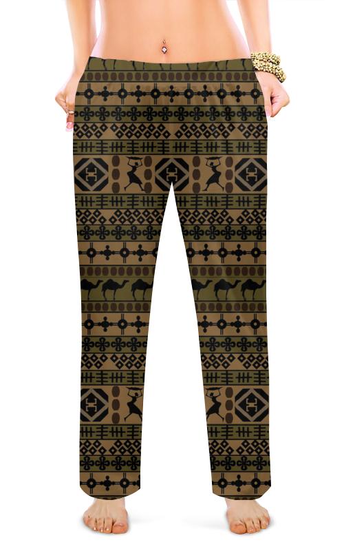 Женские пижамные штаны Printio Сафари