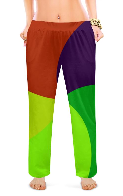 Женские пижамные штаны Printio Геометрия