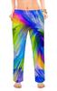 "Женские пижамные штаны ""Abstract Rainbow "" - радуга, цвета, краски, абстракция"