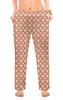"""Женские пижамные штаны """"Индийский огурец и цветы"""" - девушка, женщина, орнамент, растения, индийский"""