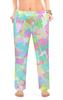 """Женские пижамные штаны """"Пастельные сердечки"""" - любовь, девушка, 14 февраля, 8 марта, подарок"""