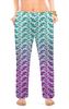 """Женские пижамные штаны """"Узоры пейсли с градиентом"""" - узор, орнамент, растения, этнический, пейсли"""
