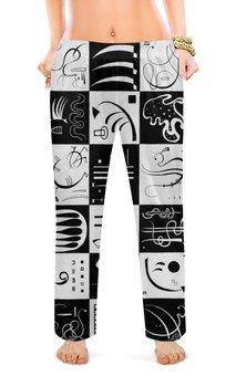 """Женские пижамные штаны """"Тридцать (Василий Кандинский)"""" - картина, живопись, кандинский"""