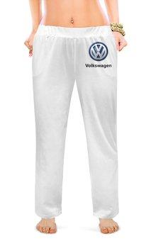 """Женские пижамные штаны """"Volkswagen"""" - авто, машина, мото, volkswagen, фольксваген"""