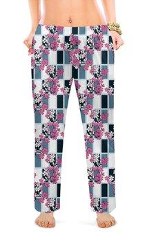 """Женские пижамные штаны """"Сакура """" - дизайн, мода, сладкий сон"""