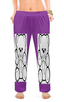"""Женские пижамные штаны """"Мишки. """" - женские, мишки, штаны, пижамные штаны, пижамы"""
