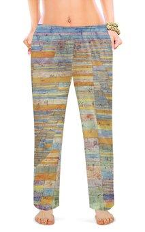 """Женские пижамные штаны """"Шоссе и переулки (Пауль Клее)"""" - картина, живопись, клее"""
