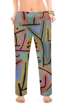 """Женские пижамные штаны """"Парк возле Лю (Пауль Клее)"""" - картина, живопись, клее"""