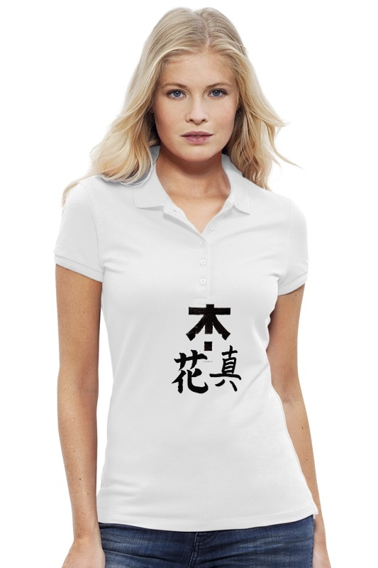 Рубашка Поло Stella Plays Printio Япония. минимализм