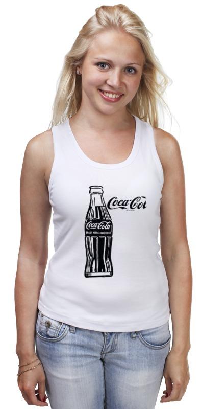 Майка классическая Printio Кока-кола (coca-cola) блок глюкоза конфеты кола 42г