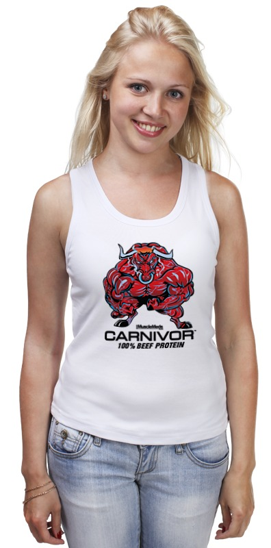 Майка классическая Printio Bull bodybuilder футболка классическая printio bull bodybuilder