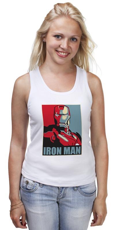 Майка классическая Printio Iron man iron maiden iron maiden running free live