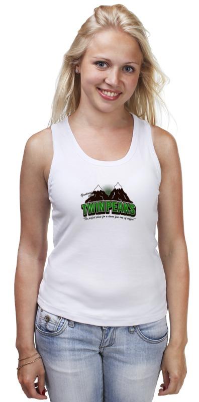 Майка классическая Printio Twin peaks майка print bar welcome to twin peaks