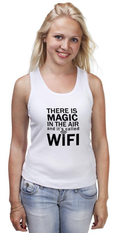 Майка классическая Printio Wifi magic (1) майка print bar magic ia vocaloid