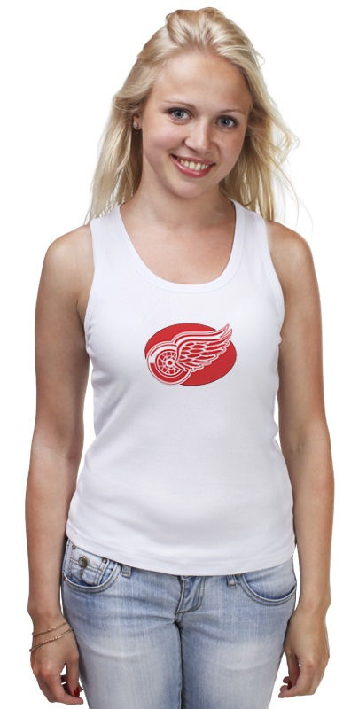 Майка классическая Printio Detroit red wings / nhl usa детская футболка классическая унисекс printio detroit red wings nhl usa