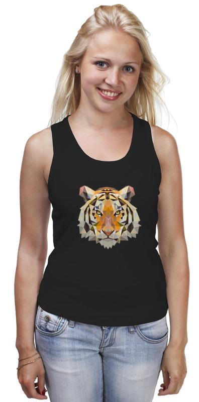 Майка классическая Printio Тигр - tiger тигр tiger челюстно b18c импортированные рисоварки внутренний 5л