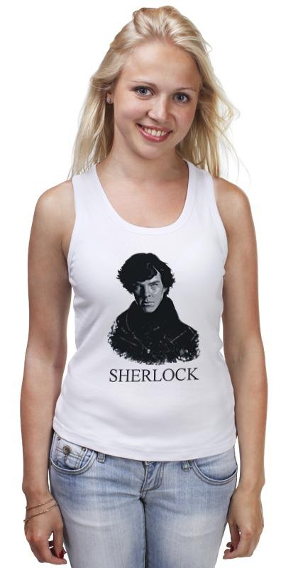 Майка классическая Printio Шерлок холмс (sherlock) лейн э молодой шерлок холмс черный лед