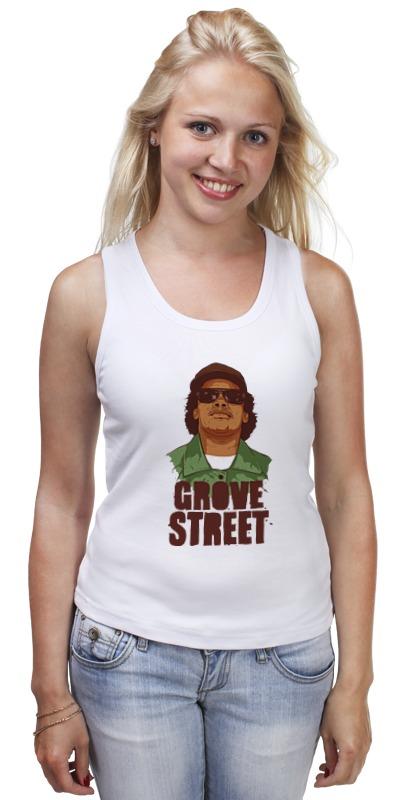 Майка классическая Printio Grove street 4 life макетная плата mcu grove gsr grove