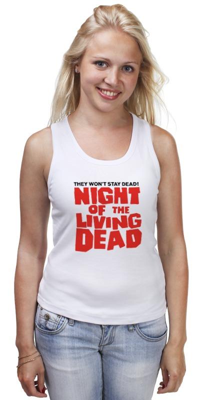 Майка классическая Printio Ночь живых мертвецов (ходячие мертвецы) артем тихомиров ночь мертвых живых