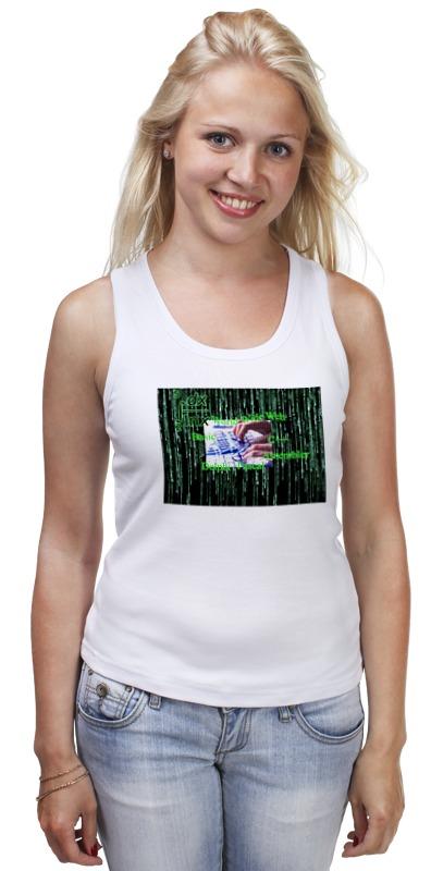 Майка классическая Printio Программирование футболка классическая printio code программирование