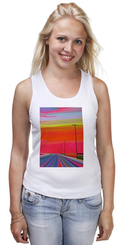 Майка классическая Printio Route 66 модная