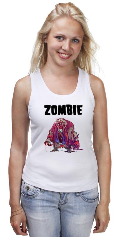 Майка классическая Printio Zombie cat майка print bar zombie boom